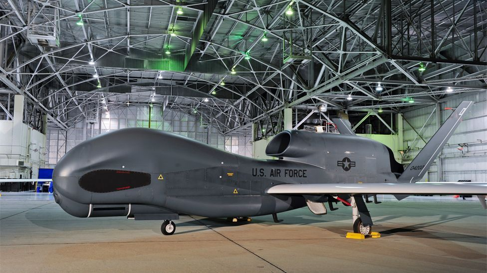 Unmanned aerial vehicles, such as the Global Hawk, are now routinely used by the military for reconnaissance and airstrikes. (Copyright:  Northrop Grumman)