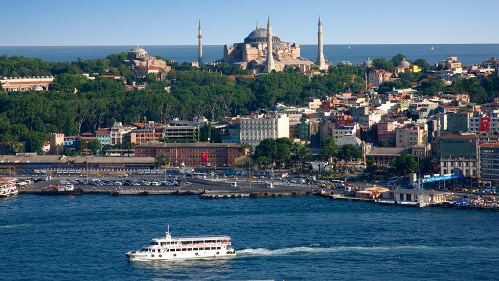The Bosphorus Istanbul Turkey