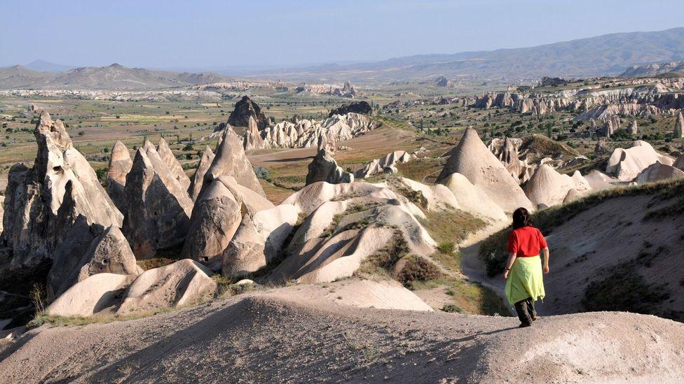 Cappadocia Turkey hiking