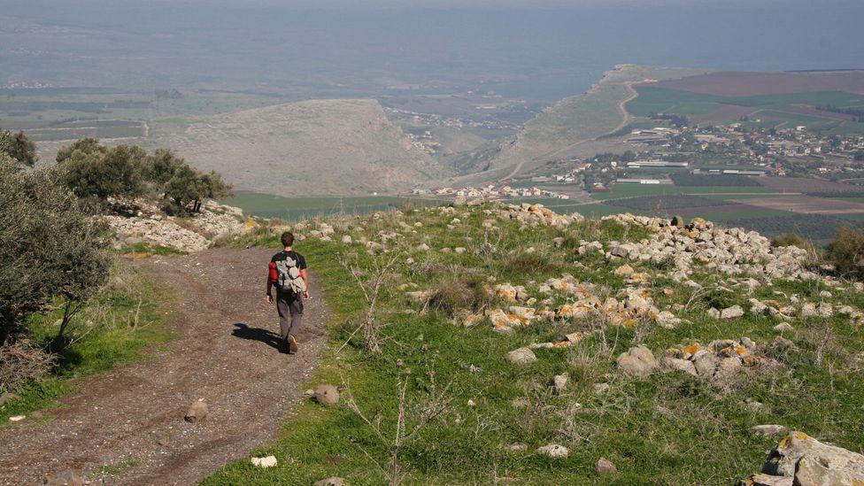 The Horns of Hattin  Jesus Trail Israel