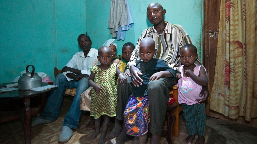 Saidi Rukamata, of Musubiro Village, Uganda, bought a Barefoot Power Pack nearly a year ago, which provides energy for his family of eight and means they no longer use kerosene.