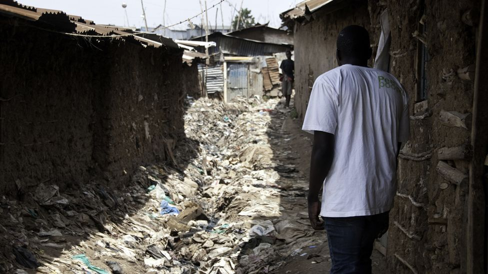 Many of the customers live in slums which lack proper sanitation. When it rains, they flood. What toilets exist are often unsafe to visit, especially for women.