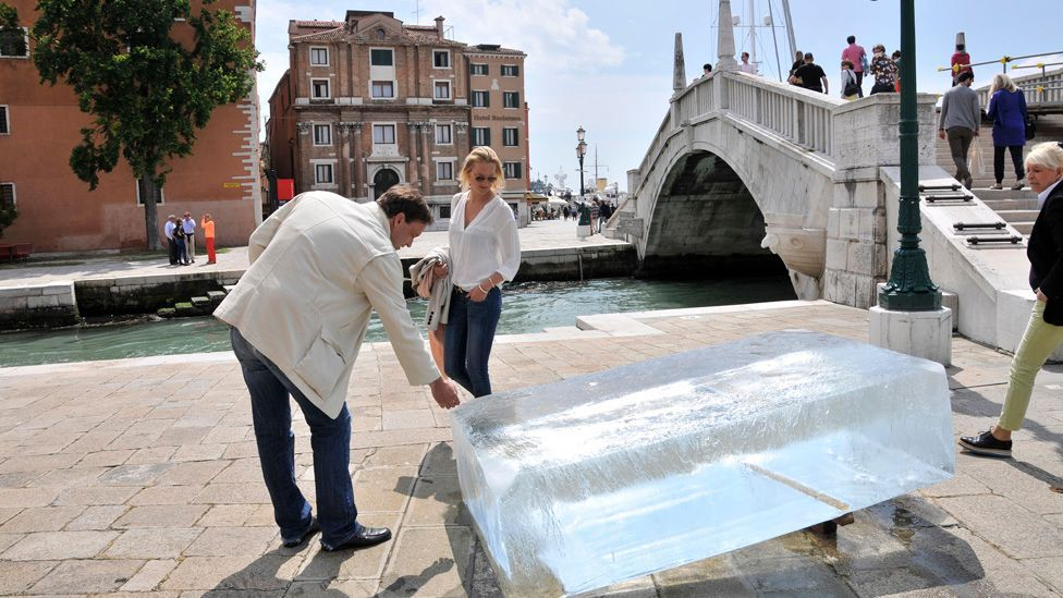 The Maldives make a first-time appearance at Venice this year too, with works addressing the issue of climate change. (Stefano Cagol)