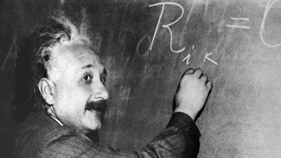 Albert Einstein, author of the theory of relativity, was awarded the Nobel Prize for Physics in 1921. Would his genius make it past the big data test today? (Getty Images)