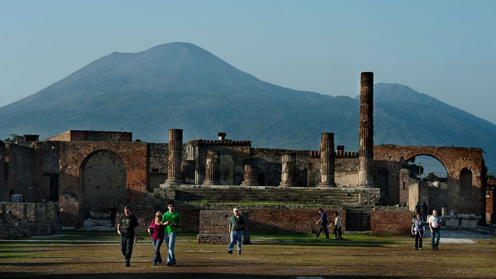 Nature has wiped out cities before. Pompeii was destroyed and buried under ash and pumice from the eruption of Mount Vesuvius in 79 AD. (Copyright: Getty Images)