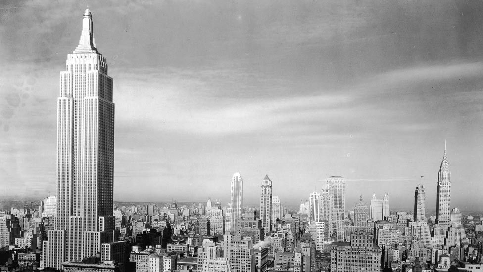 It was completed in 1931 and was declared 'the tallest building in the world', a status it kept until the World Trade Center's North tower was finished in 1972. (Getty Images)