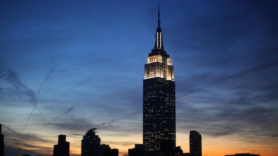 Building work began on 22 January 1930, and involved 3,400 construction workers. It was declared open by President Herbert Hoover. (Getty Images)
