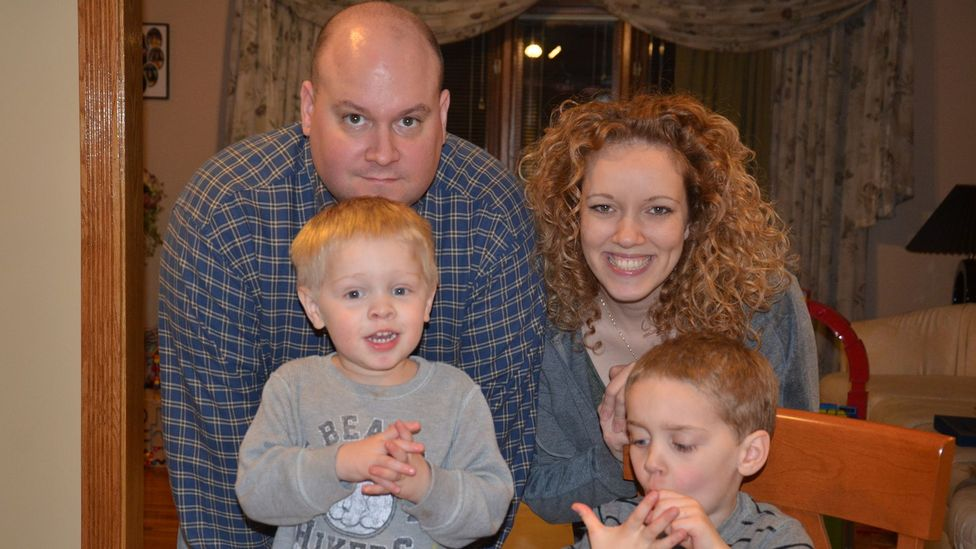 Brian Lipp recently became a stay-at-home dad. His wife, Laura, spends more time working at her law firm. (Courtesy Lipp Family)