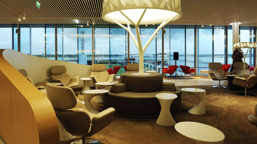 airline lounge
