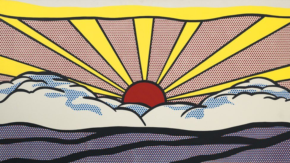 In 1964 Lichtenstein became the first American artist to have a solo exhibition at London's Tate Gallery. (Photo: Centre Pompidou)