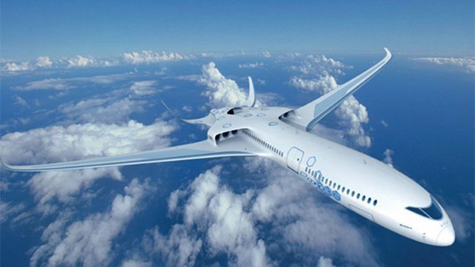 Ambitious ideas on the table for hybrid-like planes could mean the airliner of the future may look, feel and sound very different to today's models. (Copyright: EADS)