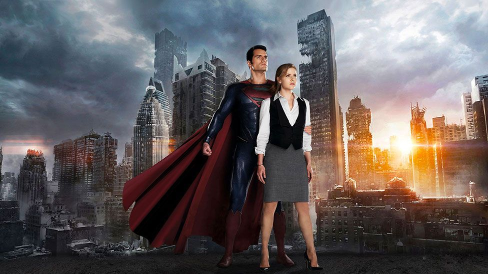 In Man of Steel, it is an unidentified metropolis resembling New York that goes up in flames. (Warner Bros.)