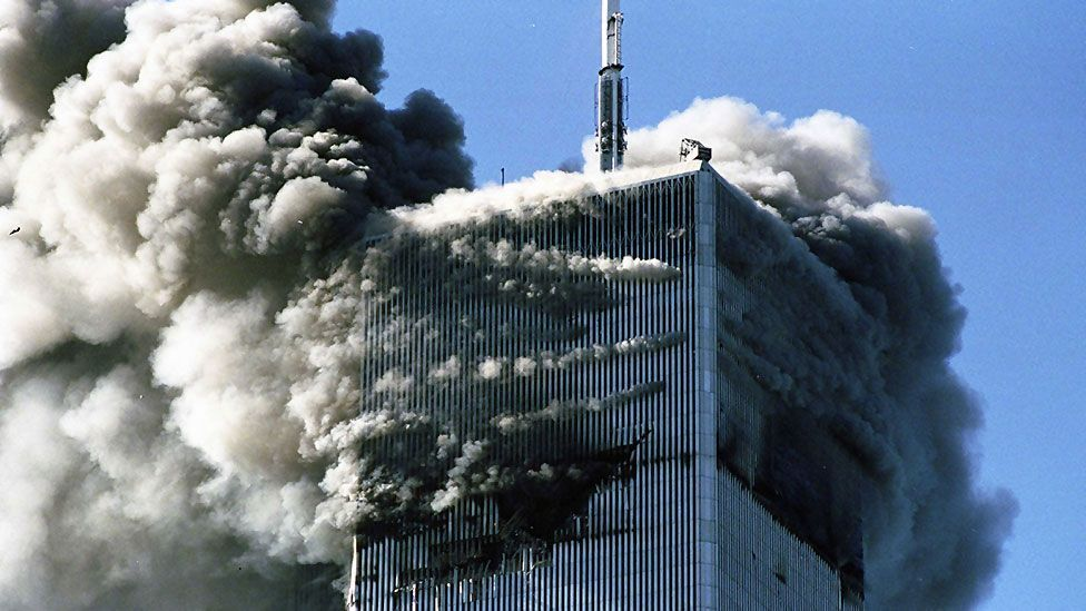 The events of 11 September 2001 were themselves highly cinematic and have influenced Hollywood movie-making. Many disaster movies prey on post-9/11 anxieties. (Rex Features)