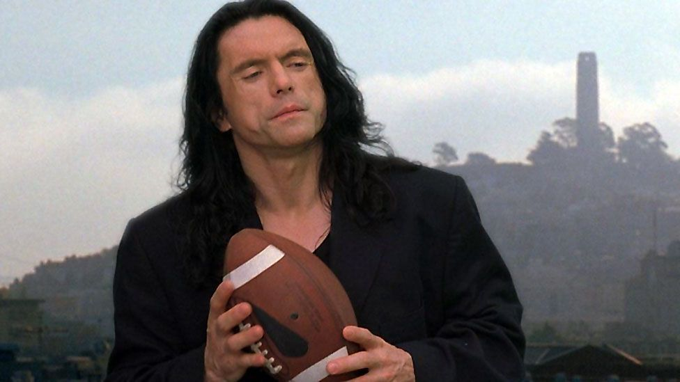 "Actor, screenwriter and director Tommy Wiseau's The Room is so terrible, it has become a cult hit. Entertainment Weekly called it ""the Citizen Kane of bad movies."" (Wiseau Films)"