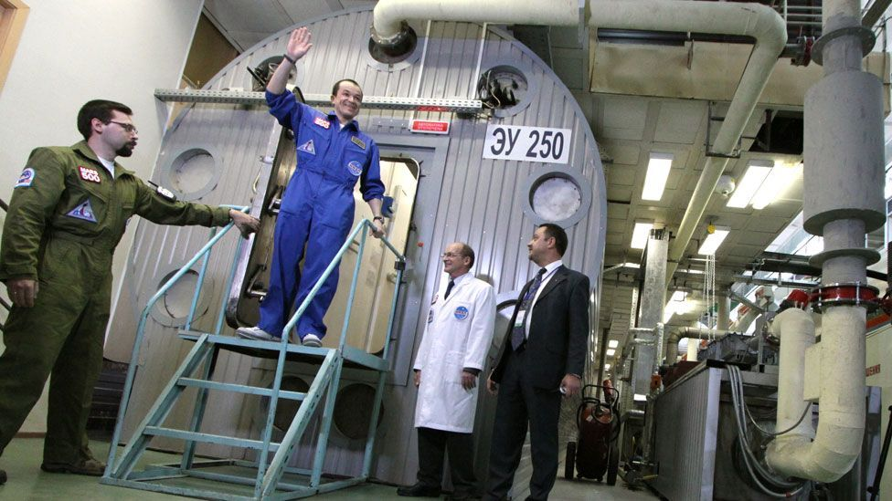 Isolated from the outside world for several months, volunteers in the Mars500 experiment were monitored to study the effects of a Red Planet mission. (Copyright: Getty Images)