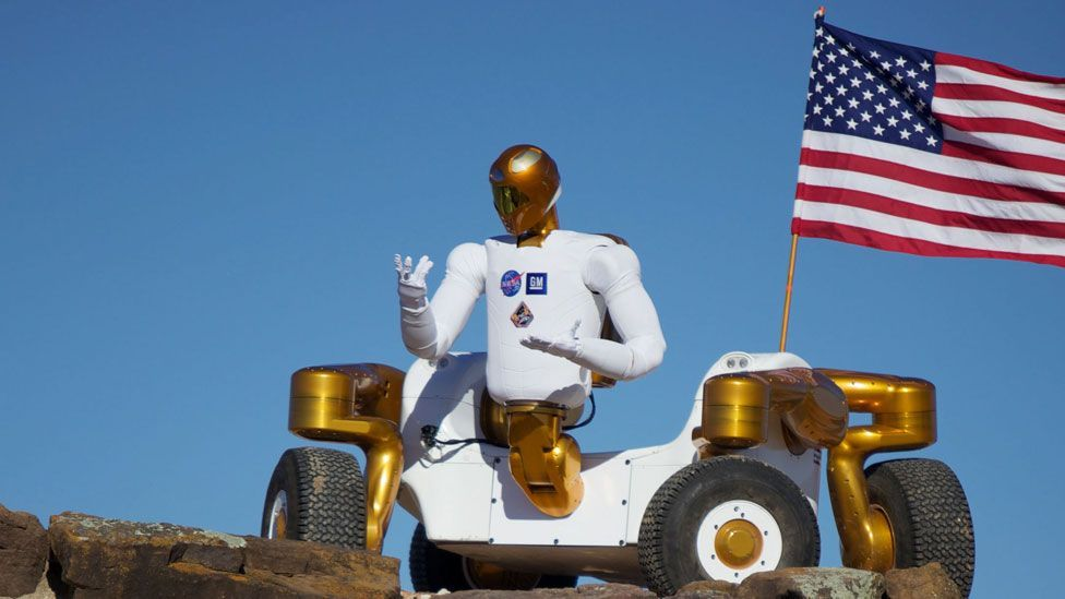 In 2011, the first human-like robot was sent into space to become a permanent resident of the International Space Station: Robonaut 2. (Copyright: Nasa)