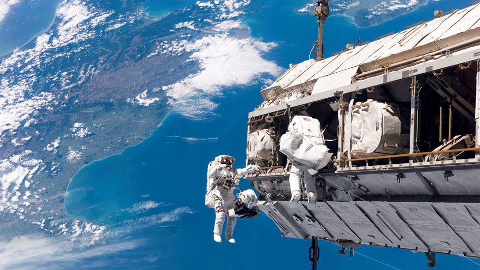Teamwork is essential in crews; sometimes crew members get along famously, sometimes crew members don't get along at all. (Copyright: Nasa)