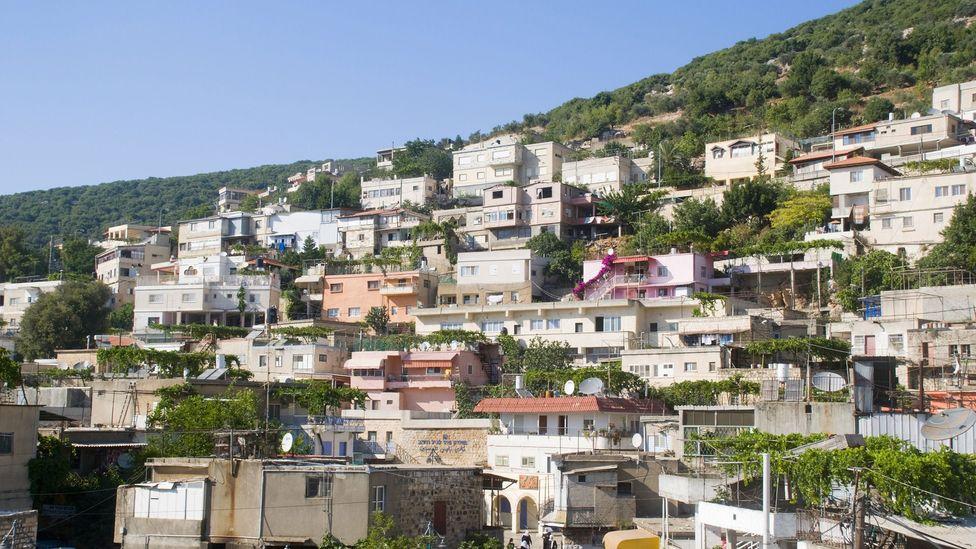 The Druze village of Peki'in Israel