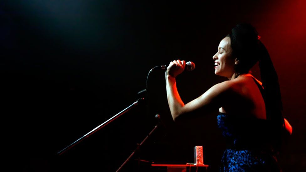 Verdult's gigs at the city's Zizek Club helped foster the local scene which created stars such La Yegros (pictured). (Photo: Mark Van Der Aa)