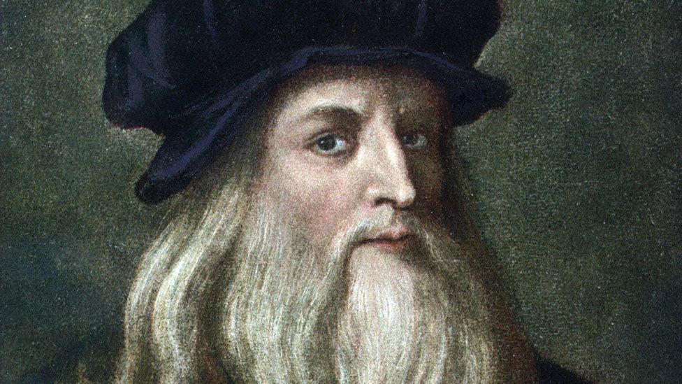 Leonardo da Vinci's restless curiosity led him to try his hand as a painter, sculptor, engineer, inventor, anatomist, writer, geologist and botanist, among other things.  (Corbis)