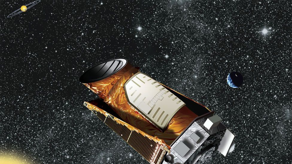 Nasa said it is retiring its prolific Kepler space telescope from planet-hunting duties. So far Kepler has confirmed 135 planets beyond our Solar System. (Copyright: Nasa)