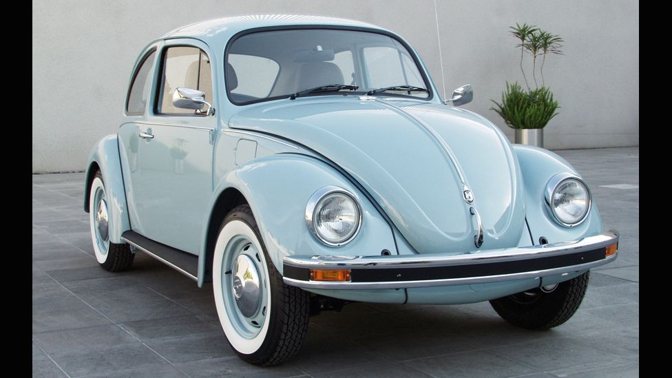 In 2003, the last edition of the original Beetle rolled out of the factory in the Mexican state of Puebla - nearly 60 years after the original. (VW)