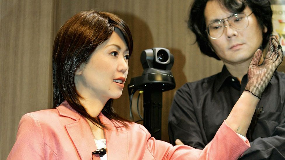 One of the world's leading humanoid roboticists, Hiroshi Ishiguro believes he can build a robot that we won't be able to distinguish from other humans. (Copyright: Getty Images)