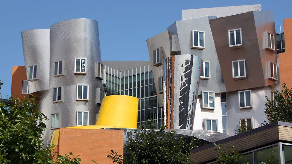 MIT's provocatively designed Stata Center opened in 2004 and is home to such tech luminaries as Tim Berners-Lee, who helped create the World Wide Web. (Copyright: Jonathan Fildes)