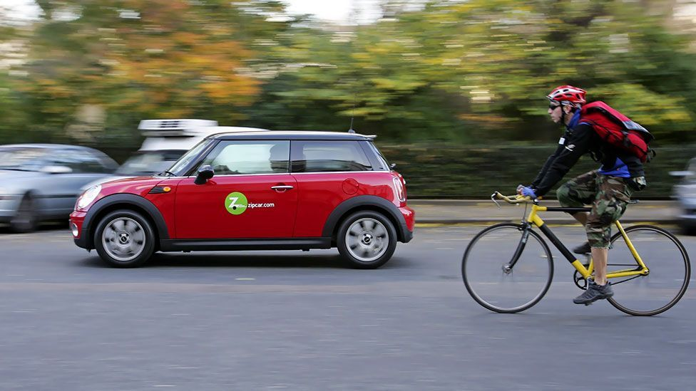 ZipCar – a car-sharing scheme where people rent cars by the hour – was founded in Cambridge in 2000. It now has more than 810,000 members. (Copyright: Getty Images)