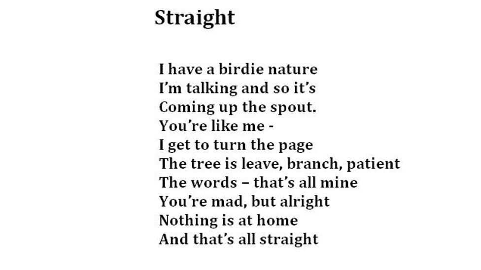 (Poem: Living Words, Photo: Julia Miranda/Living Words)