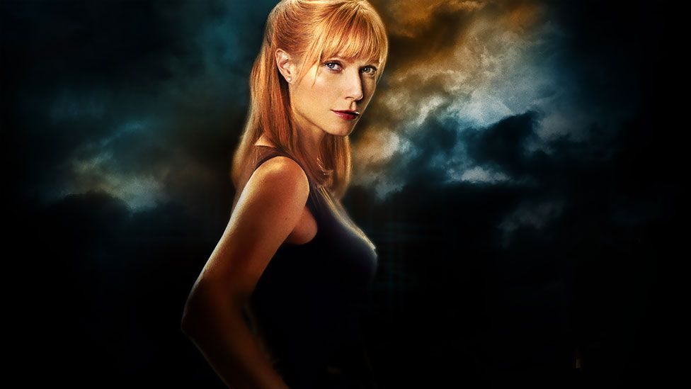 Gwyneth Paltrow's Pepper Potts is integral to the Iron Man movies – but she still requires saving by Robert Downey Jr's suited superhero. (Paramount Pictures)