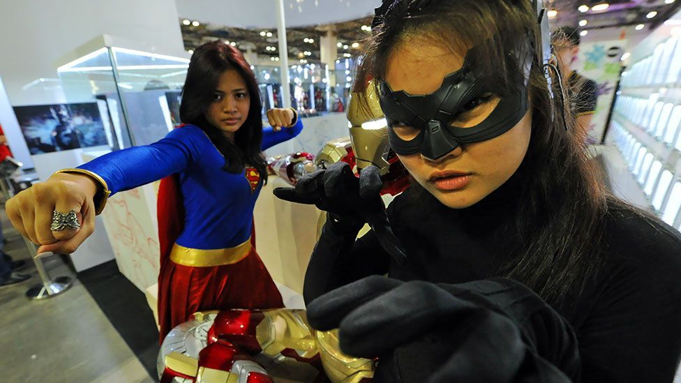 Though filmmakers seem to believe comic book adaptations are a male preserve, there's an increasing number of female comic fans. (Getty Images)