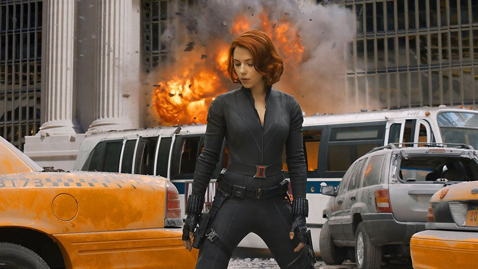 One of the most high-profile recent female characters has been Scarlet Johansson's Black Widow in the Avengers film in 2012. (Walt Disney Studios Motion Pictures)