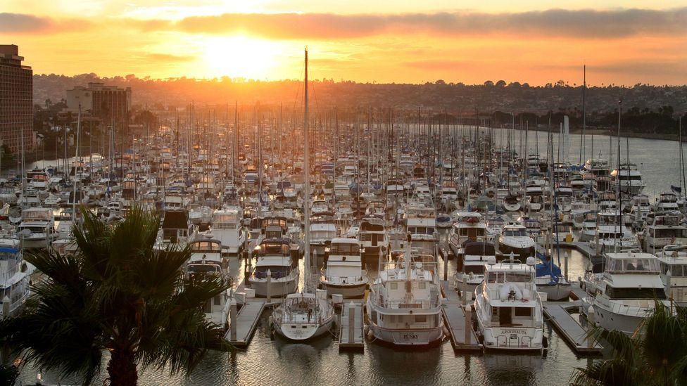 Harbor Island Marina, San Diego