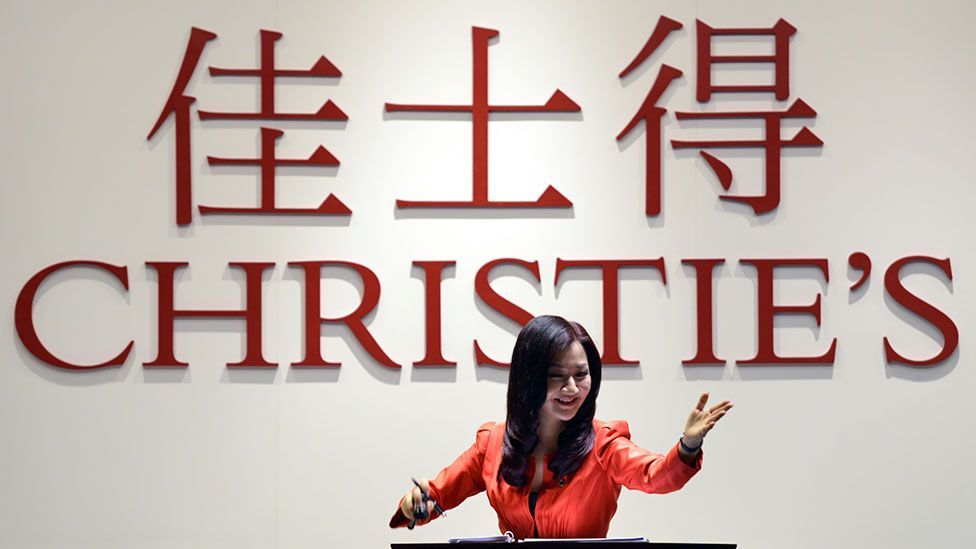 Christie's kicked off its first independent auction in mainland China in September 2013. The Chinese market is considered a key growth engine for global art sales. (Getty)