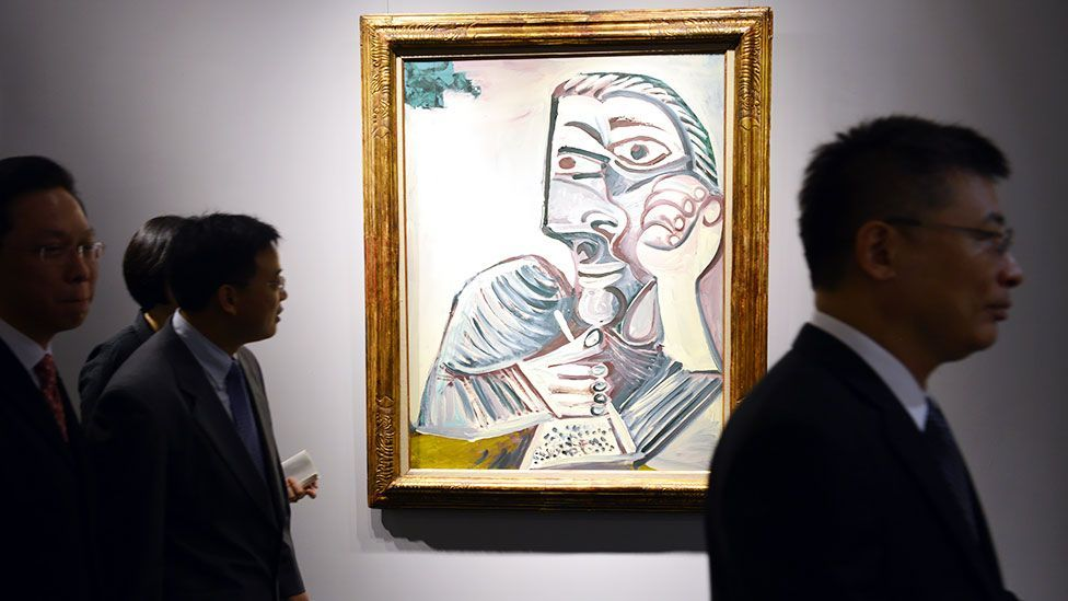 The Christie's event also let the auction house show off works from the collection of art dealer Jan Krugier that will be up for sale next month in New York. (Getty)