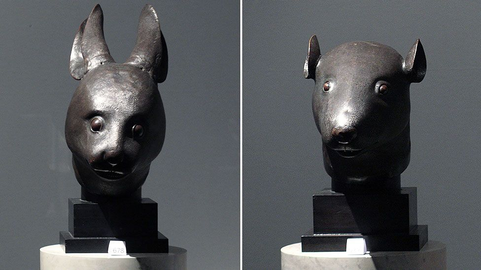 Christie's fell foul of the Chinese authorities in 2009 when it auctioned two bronze animal head sculptures, looted from Beijing's Summer Palace in 1860. (Getty)