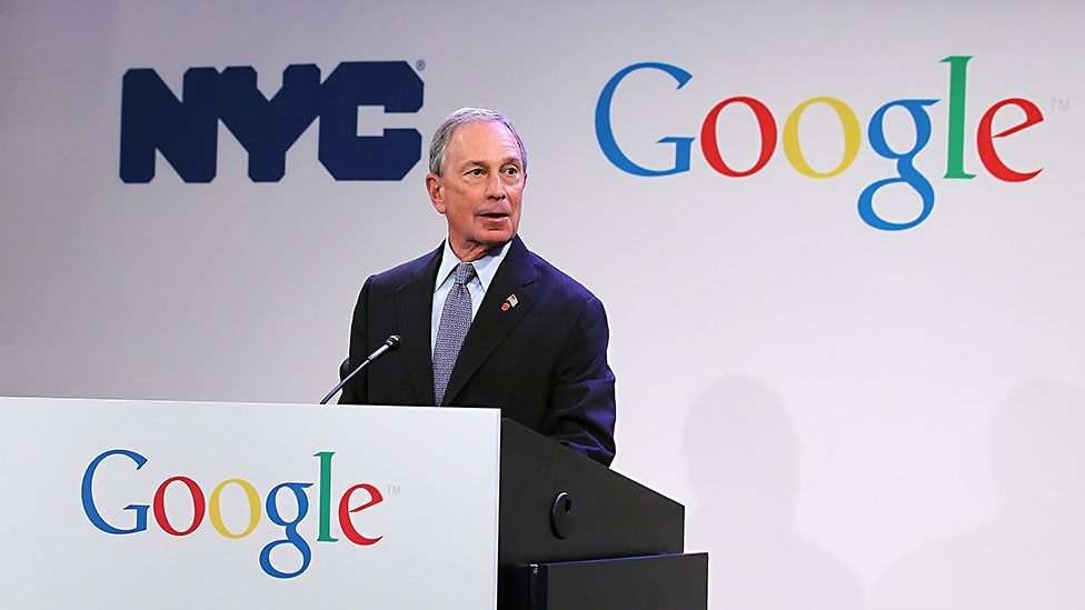 New York's tech start-ups have the support of the city's mayor, Michael Bloomberg, who has set up several programmes to encourage tech firms. (Copyright: Getty Images)
