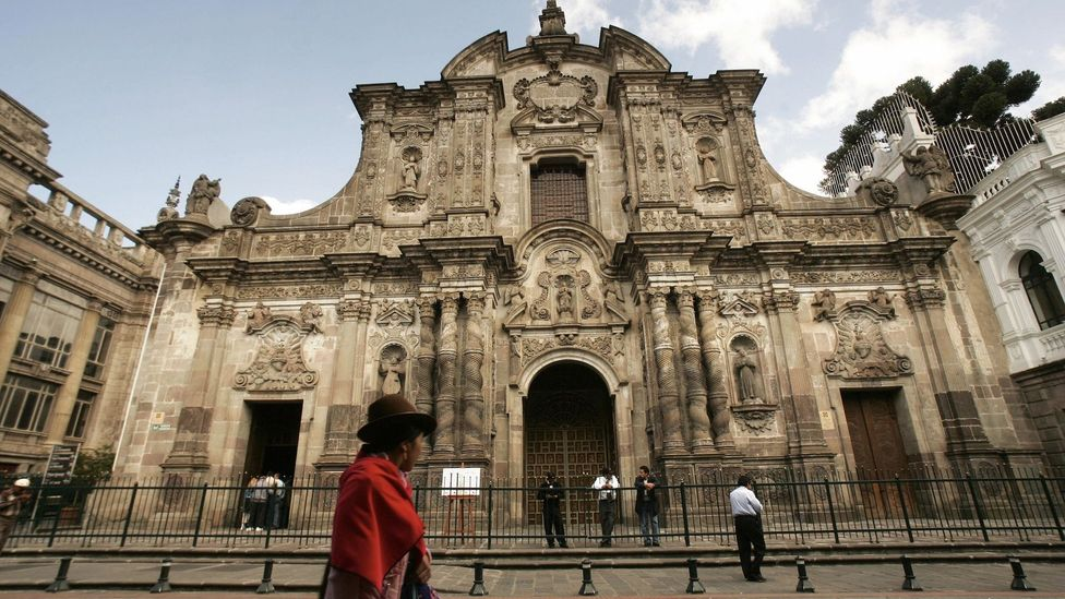 Church of the Society of Jesus, Quito