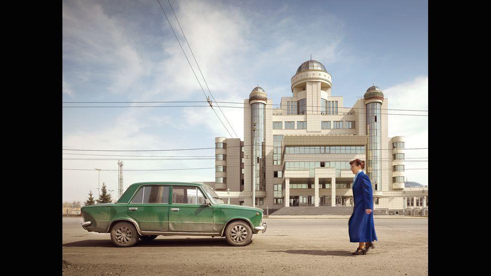 Traffic Police Headquarters, Kazan, Russia