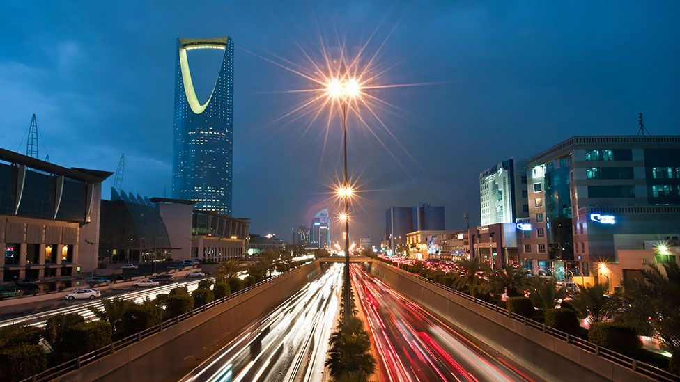 Saudi Arabia has been a unified country for some 70 years, but has become one of the richest states in the world – a wealth fuelled by petroleum reserves. (Bloomberg/Getty Images)