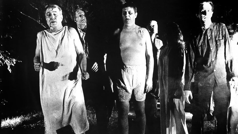 George A Romero's low-budget 1968 film Night of the Living Dead created a code for the genre − it was highly influential. (Walter Reade Organization)