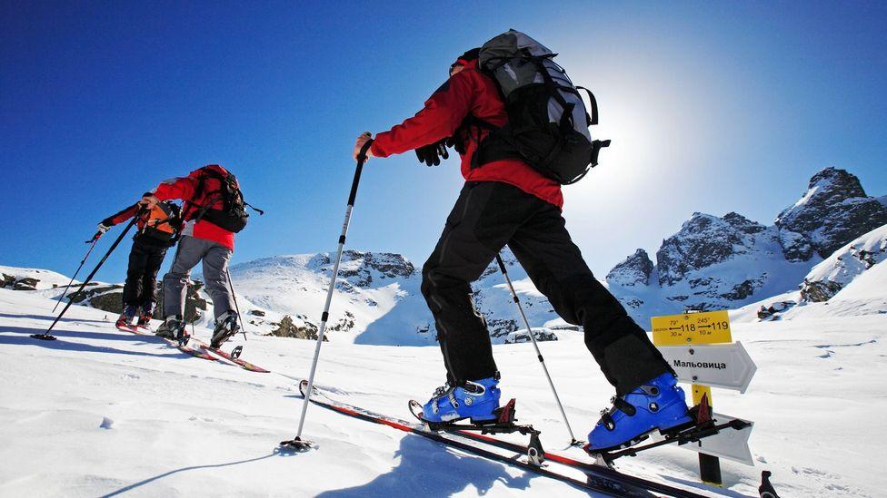 Bulgaria, skiing, snow, Rila mountains, Popova Kapa