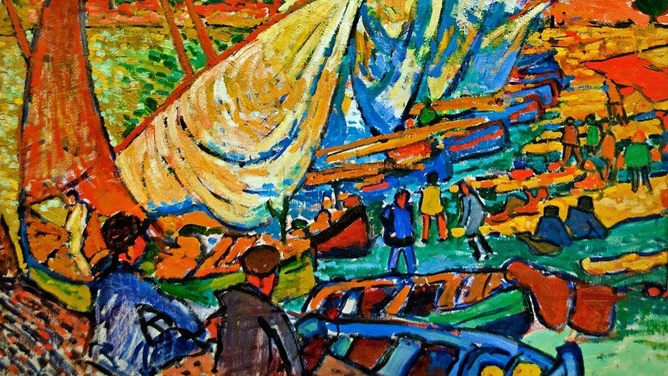 Works from André Derain's Fauve period are highly sought after and attract big money. But his other works are all much less valuable. (Alamy)