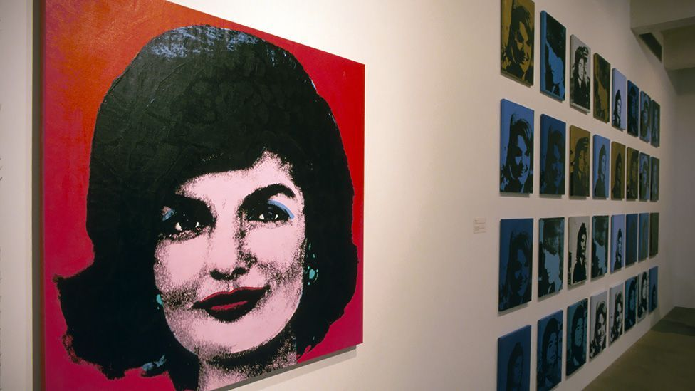 Likewise, Andy Warhol's screenprints of Jackie Kennedy are always hot items when they come onto the market. (Alamy)