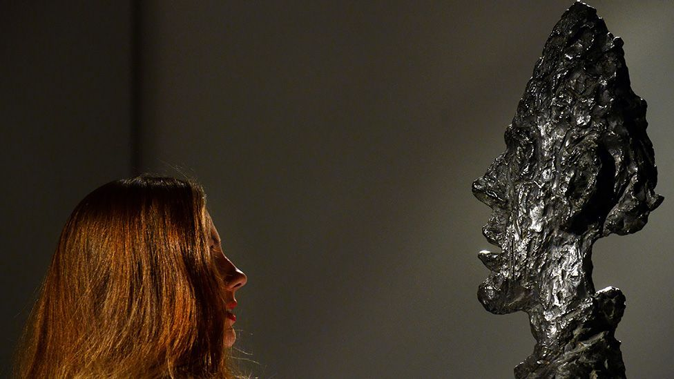 In 2002, a bust by Alberto Giacometti of his brother Diego sold for $14.6m. But in this autumn's sales a similar work by the same artist could cost $50m or more. (Getty)