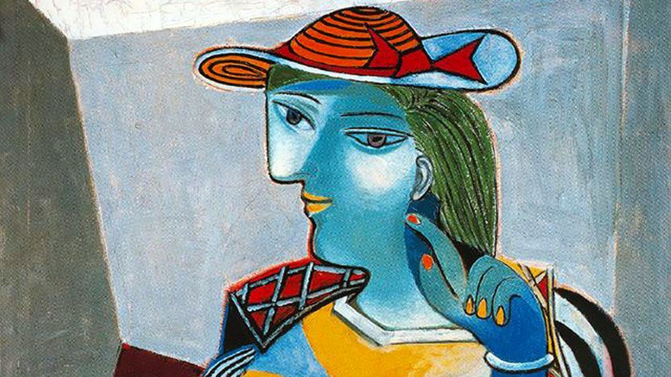 Marie-Thérèse Walter was Picasso's mistress in the 1920s '30s. His works from this period – particularly portraits of her – are highly sought after by collectors. (Wikiart)