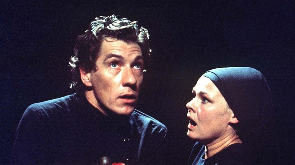 Genre film heavyweights Ian McKellen and Judi Dench honed their skills performing the Bard's plays on the stage – like Trevor Nunn's 1979 version of Macbeth. (Rex)