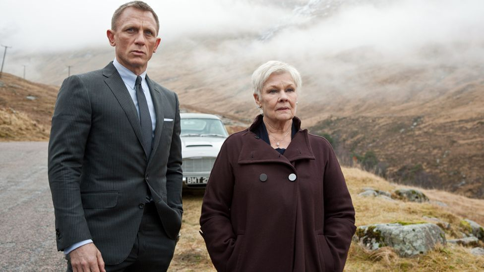 Judi Dench appeared in seven James Bond movies as 007's boss M. She has also appeared in other genre fare like The Chronicles of Riddick. (Col Pics/Everett/Rex)
