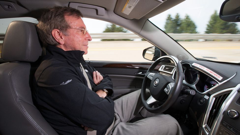 General Motors' Super Cruise could allow the car to drive itself on long, monotonous stretches of highway – leaving the driver free to relax. (GM/Newspress)